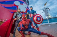 DCL Introduces First-Ever Marvel Day at Sea