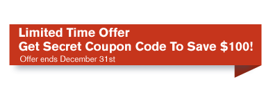 Get Secret Coupon Code To Save $100!