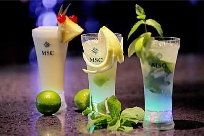 All Inclusive Drinks Packages with MSC