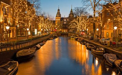 major travel - christmas in amsterdam