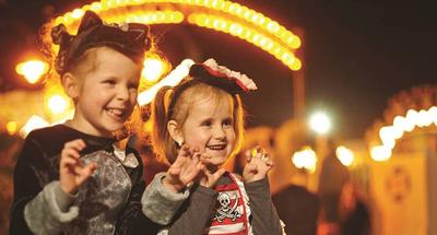 spooktober family weekends at butlin's
