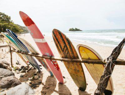 not in the guidebooks - surf and yoga!