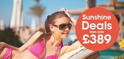 sunshine deals with red sea holidays