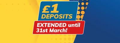 shearings - £1 deposits