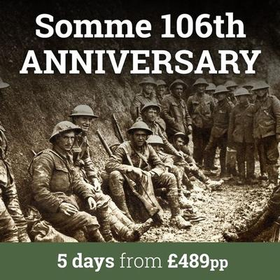 Anniversary of the somme - leger holidays