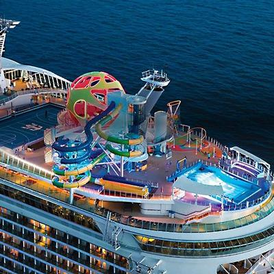 cruises are back - royal caribbean