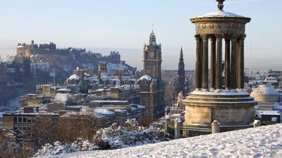 Christmas in Scotland - wendy wu