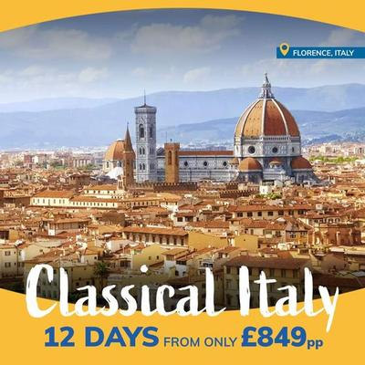shearings presents classical italy